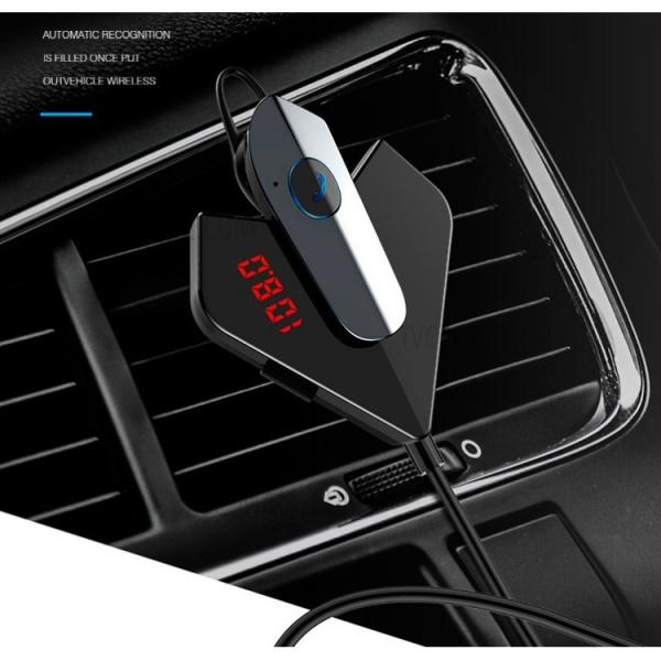 Casca cu MP3 si dock de incarcare  V12