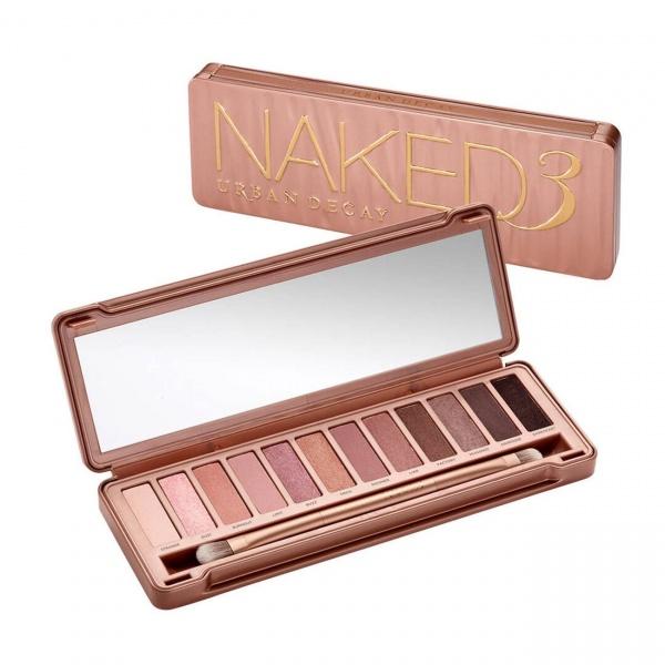 Trusa machiaj profesionala pentru makeup cu 12 nuante Naked 3
