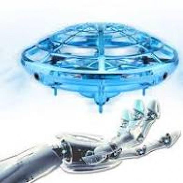 Mini drona OZN, disc zburator interactiv cu 5 senzori infrarosu