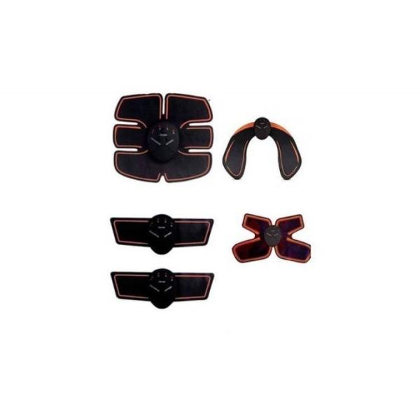 Set Aparat electrostimulare muschi 5 in 1 Fesieri + Aparat pentru Abdomen Brate, Aparat cervical, Anticelulitic, Modelare, Masaj Tonifierea Muschilor Fesieri