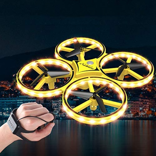 Drona Anti Coliziune, Inteligenta, Cu LED