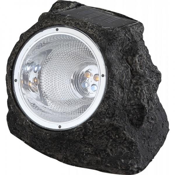 Lampa solara led in forma de piatra