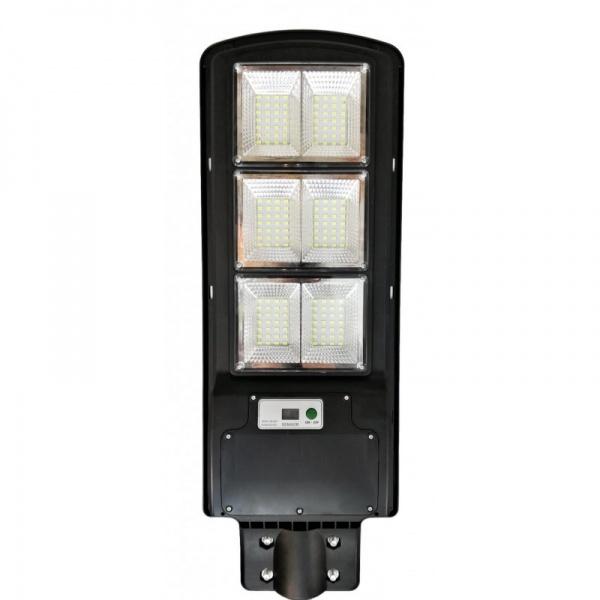 Lampa stradala 180 W cu senzor de lumina, telecomanda, suport de prindere