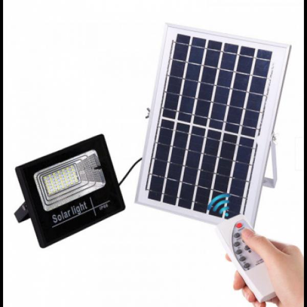 Proiector 10W LED SMD, Panou Solar si telecomanda cu functii multiple
