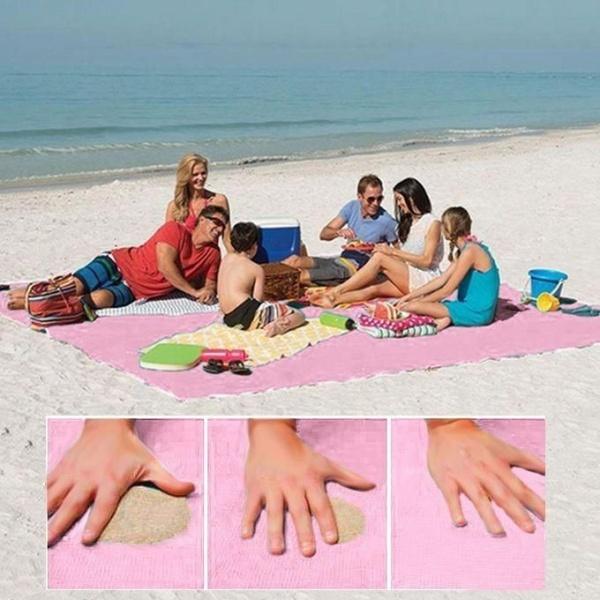 Cearsaf special pentru plaja ce nu retine nisipul, dimensiune 150x200cm