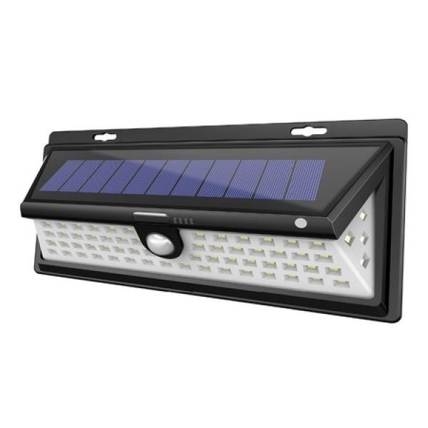 Lampa solara de perete cu senzor de miscare 190SMD CL-S190