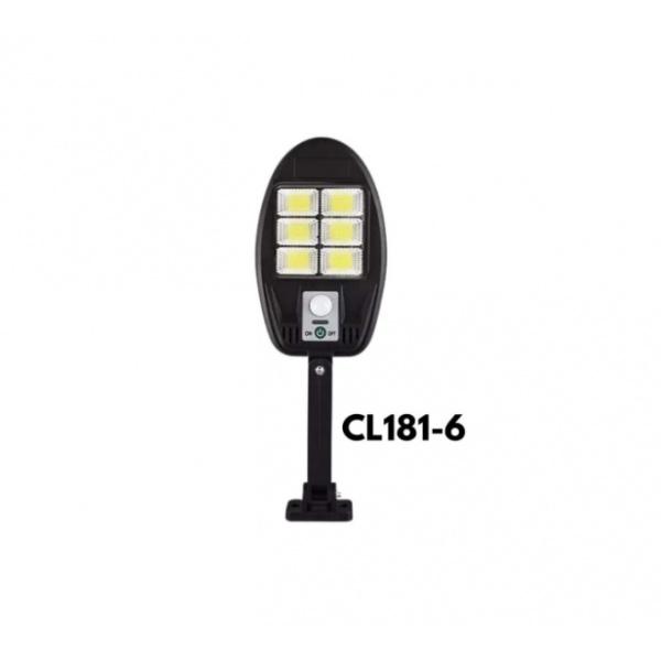 Lampa cu panou solar, 48 LED COB, CL 181-6