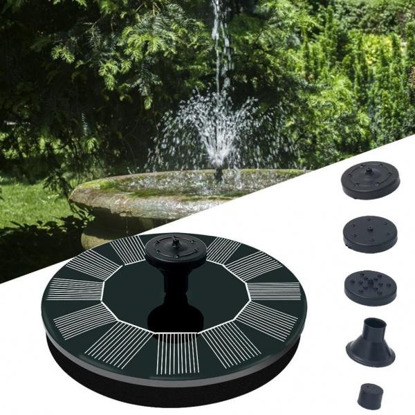 Fantana arteziana solara IPX8, 160x160 mm