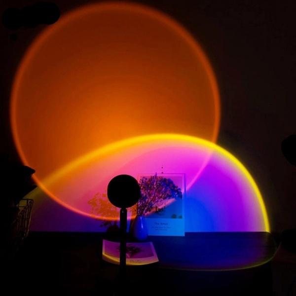 Lampa cu lupa videografie efect sunset