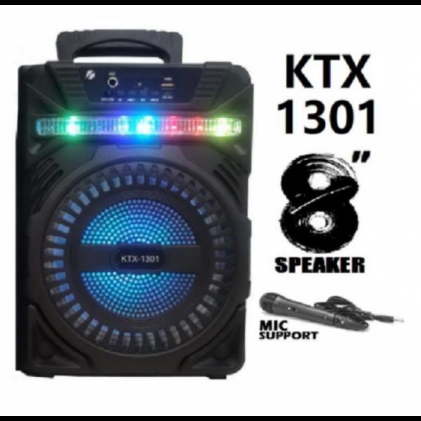 Boxa portabila fara fir cu Bluetooth cu lumina led cu microfon KTX-1301
