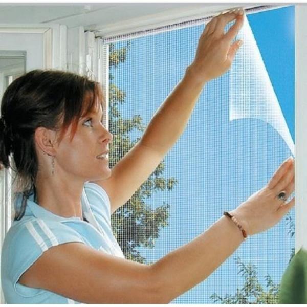 Set 4 plase impotriva insectelor pentru fereastra 130 x 140 cm