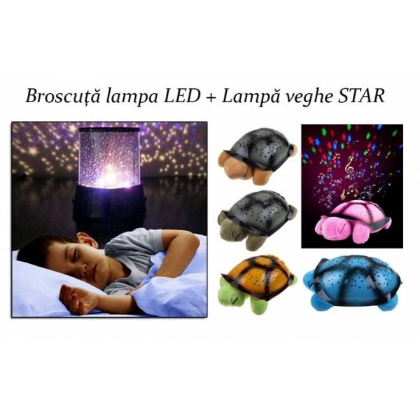Proiector Star Master + Lampa Twilight Turtle