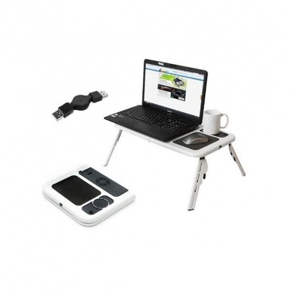 Masuta cu 3 Coolere pentru Laptop E-Table