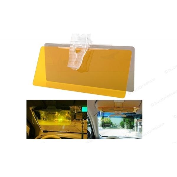 Prinde oferta cu set de 2 Parasolare Auto HD Visor, cu functie pentru zi si noapte