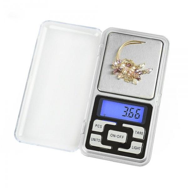 Cantar bijuterii (argint, aur, numismatica, bani), precizie 0.1g-500g