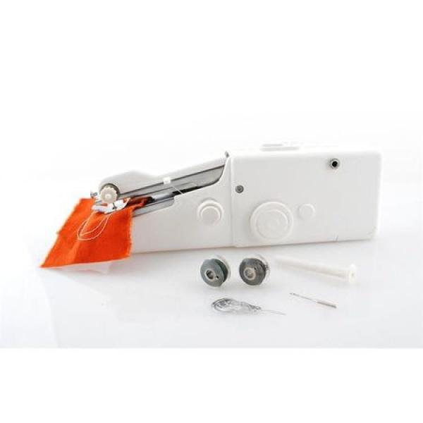 Mini masina de cusut portabila Handy Stitch + Accesorii incluse -
