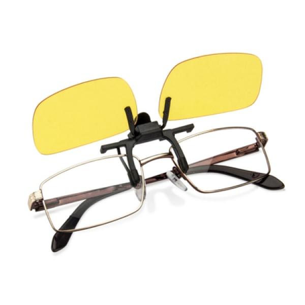 Lentile Night Vision cu clips de ochelari pentru condus noaptea sau pe timp de ceata