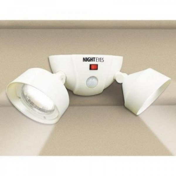Set 2 becuri pivotante LED fara fir si cu senzor Night Eyes
