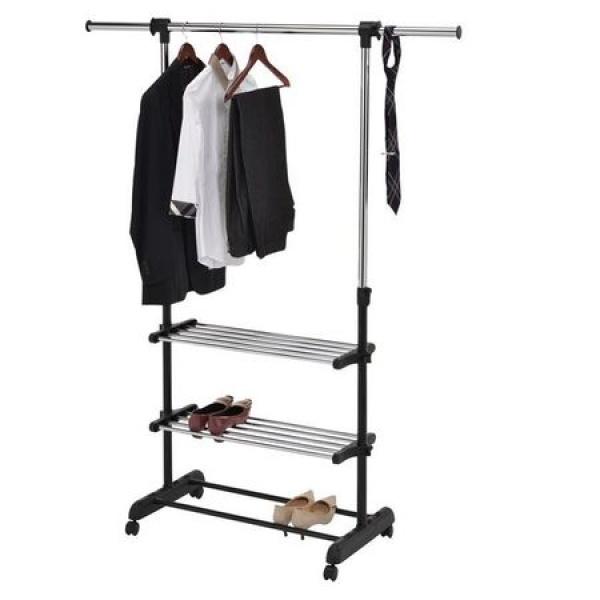 Suport extensibil pentru haine si pantofi
