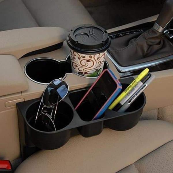 Suport auto pentru depozitare pahare si accesorii Car Valet