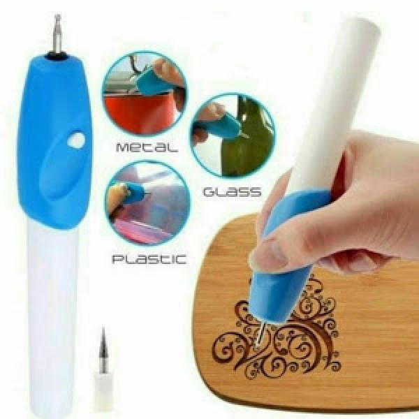 Creion pentru gravat lemn, metal, sticla, etc.