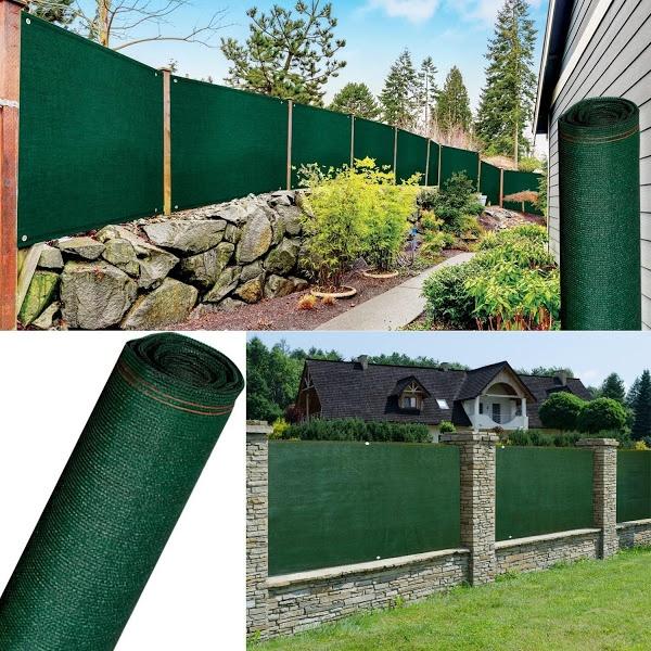Plasa verde protectie pentru umbrire, opaca, 1.5 x 10 metri - garduri, terase, sere