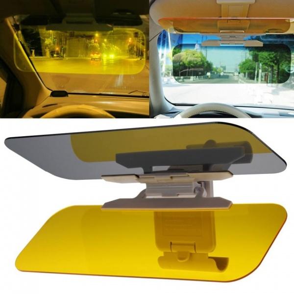 Parasolar auto Visor HD cu dubla functie zi-noapte