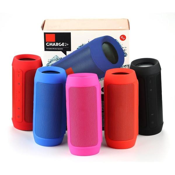 Boxa portabila Bluetooth Charge 2+ prevazuta cu doua difuzoare si multiple functii