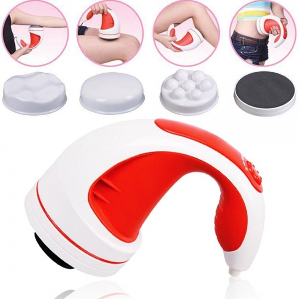 Aparat de masaj  AMP cu infrarosu si magneti, capete interschimbabile