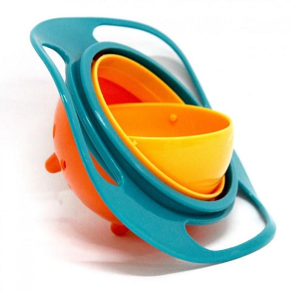 Gyro Bowl - Bol de mancare care nu se rastoarna niciodata -