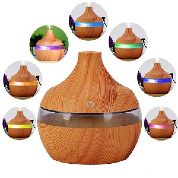 Aparat de aromaterapie pentru casa, 7 culori ambientale