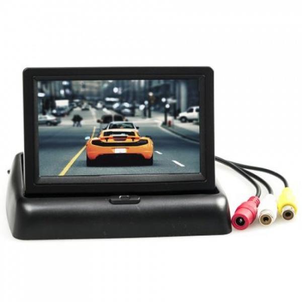 Monitor pliabil TFT LCD pentru mersul cu spatele, Cartech