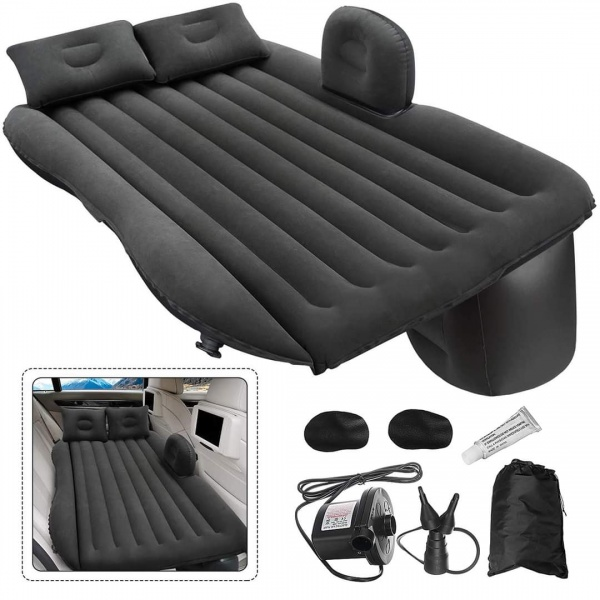 Saltea gonflabila Couch Air pentru masina +  Pompa